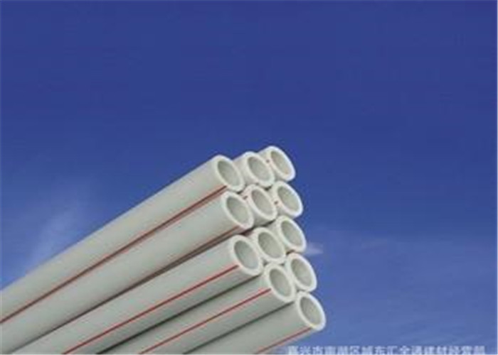 PN25 PPR Fiberglass Composite Pipe Sanitary Smooth Interior Walls Custom Size